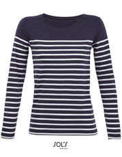 Women´s Long Sleeve Striped T-Shirt Matelot