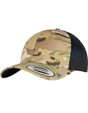 Retro Trucker Multicam Cap