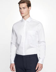 Men`s Shirt Regular Fit Twill Longsleeve