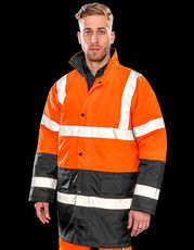 Motorway 2-Tone Safety Coat