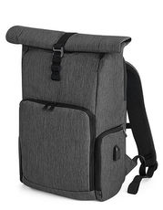 Q-Tech Charge Roll-Top Backpack
