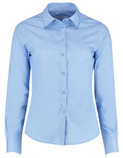 Women`s Tailored Fit Poplin Shirt Long Sleeve