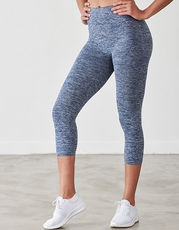 Ladies Seamless Cropped Leggings