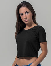 Ladies` Cropped Tee