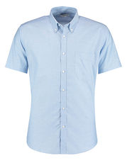 Slim Fit Workwear Oxford Shirt Short Sleeve