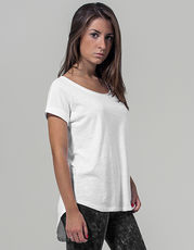 Ladies` Long Slub Tee
