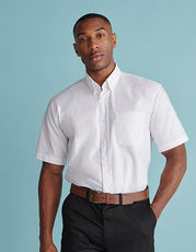 Men`s Classic Short Sleeved Oxford Shirt