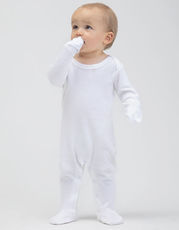 Baby Organic Sleepsuit with Scratch Mitts