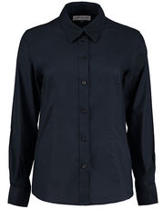 Women`s Tailored Fit Workwear Oxford Shirt Long Sleeve