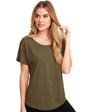 Ladies` Tri-Blend Dolman-T-Shirt