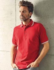 Men`s Polo Contrast Stripes