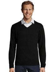 Men`s V Neck Sweater Galaxy