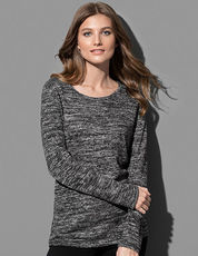 Knit Long Sleeve Sweater Women