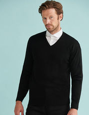 Men`s Lightweight V-Neck Jumper