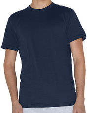 Unisex Poly-Cotton Short Sleeve Crew Neck T-Shirt