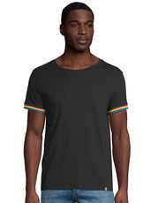 Men´s Short Sleeve T-Shirt Rainbow