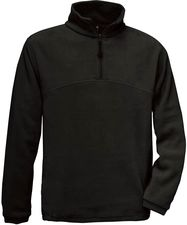 Fleece Pullover mit 1/4 Zip