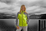 Damen Team Softshell Jacke