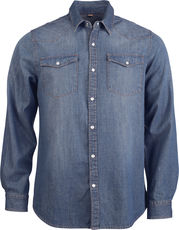 Denim Hemd langarm