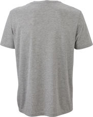 Herren V-Neck Heather T-Shirt