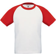 B&C | Base-Ball /kids Kinder Raglan Kontrast T-Shirt